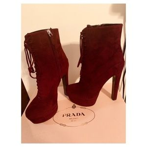 Calzature Donna Prada Ankle Boots